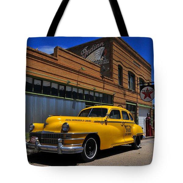Hemlock Tote Bag by Skip Hunt