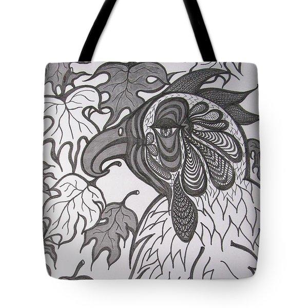 Hen Tote Bag by Rosita Larsson