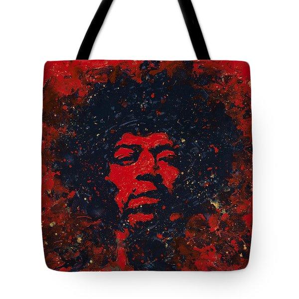 Hendrix Tote Bag by Chris Mackie