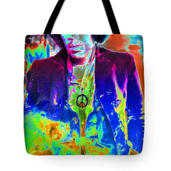 Hendrix Tote Bag by David Lee Thompson