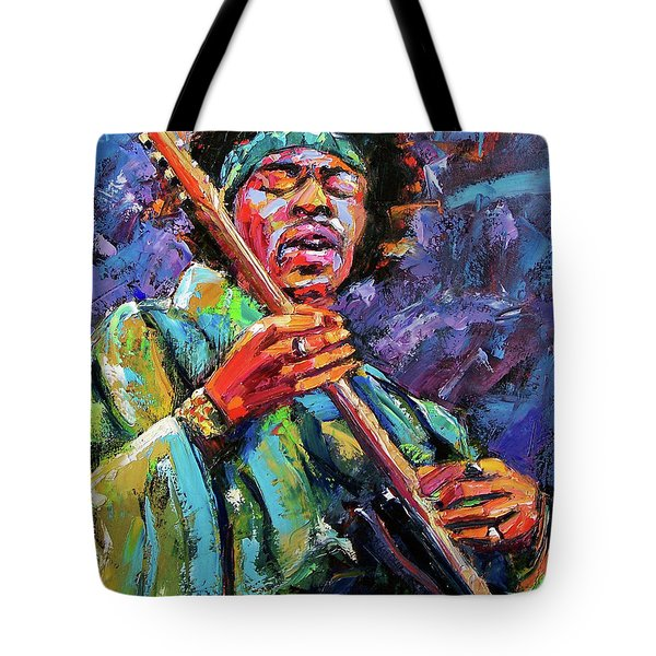 Hendrix Tote Bag by Debra Hurd