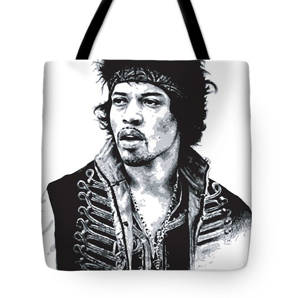 Hendrix No.02 Tote Bag by Unknow
