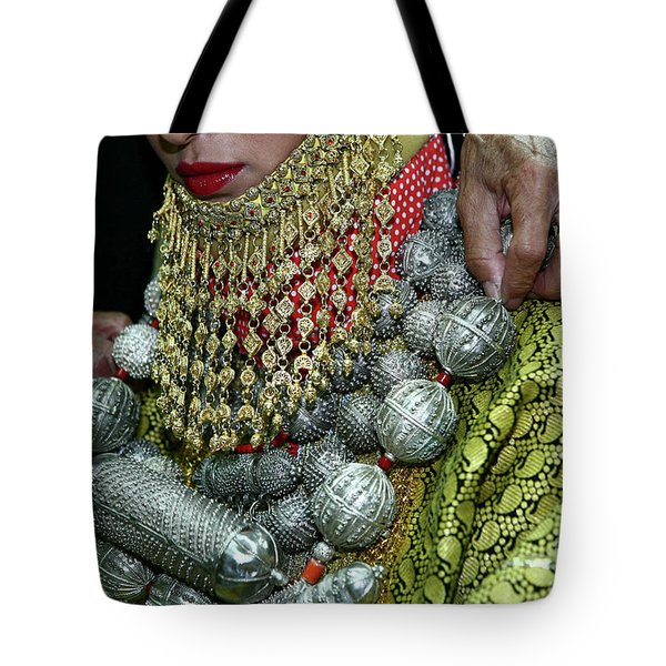Henna Ceremony  Tote Bag by Chen Leopold