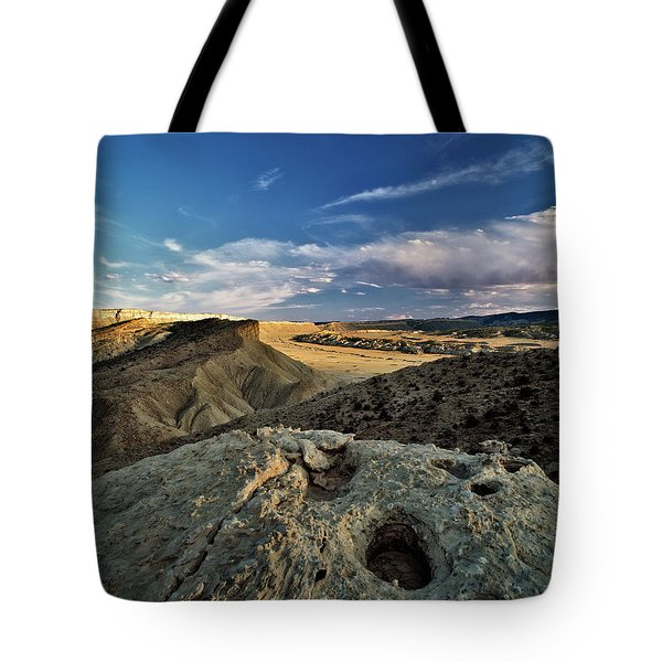 Henry Mountain WSA Tote Bag by Leland D Howard