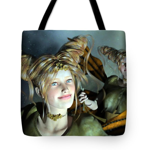 Here Comes Sunshine  Tote Bag by Betsy Knapp