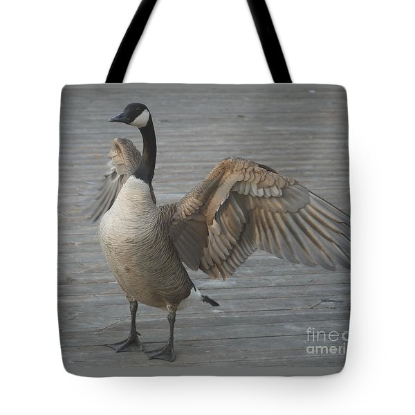 Here I Am Tote Bag by Heather Hennick