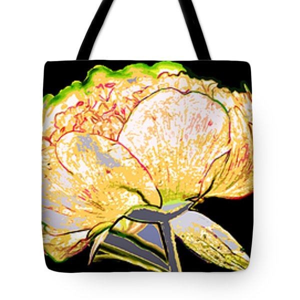 Here Today And Gone Tomorrow Triptych Tote Bag by Angelina Vick
