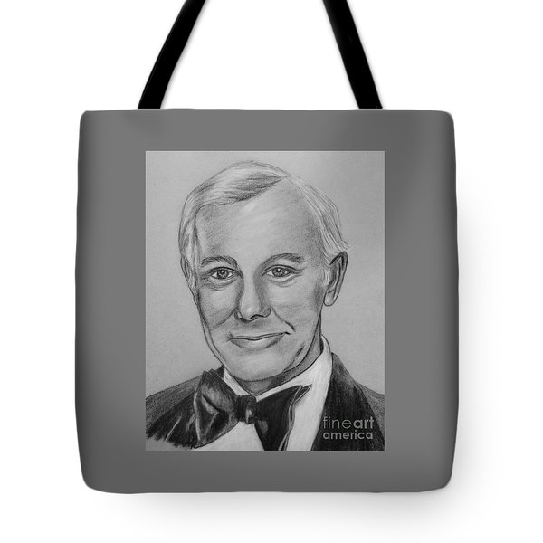 Here's Johnny Tote Bag by Sharon Ackley