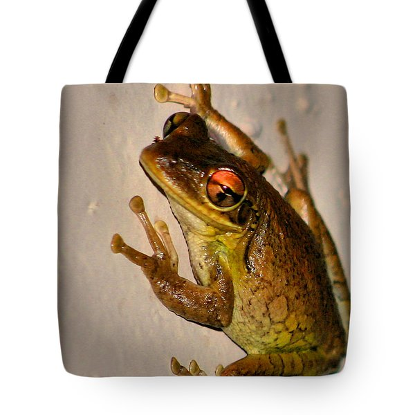 Heres Looking At You Tote Bag by Kristin Elmquist