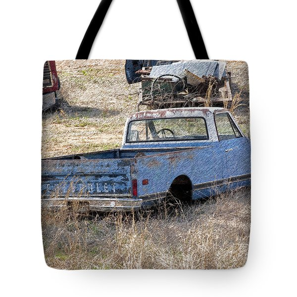 Hey Mack Gotta Light Tote Bag by Gary Adkins