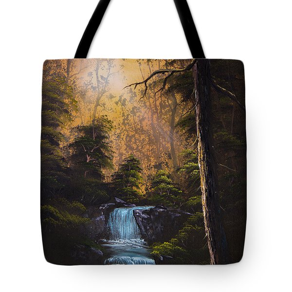 Hidden Brook Tote Bag by C Steele