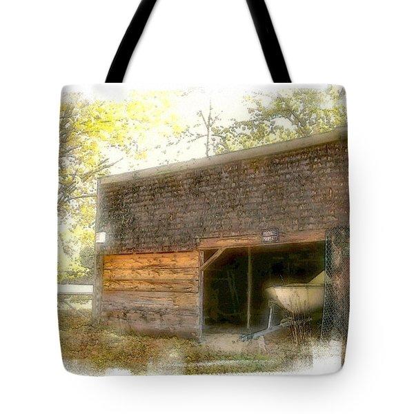 Hide And Seek Tote Bag by Rose Guay