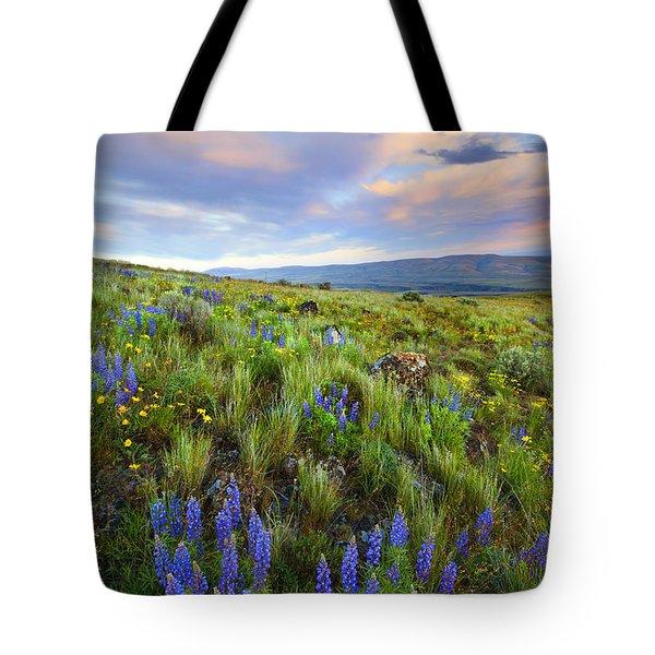 High Desert Spring Tote Bag by Mike  Dawson