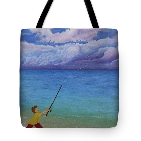 High Hopes Tote Bag by Cindy Lee Longhini