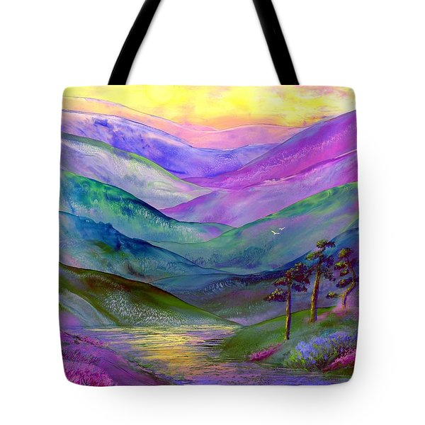 Highland Light Tote Bag by Jane Small
