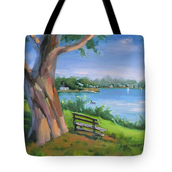 Hingham's Beauty Tote Bag by Laura Lee Zanghetti