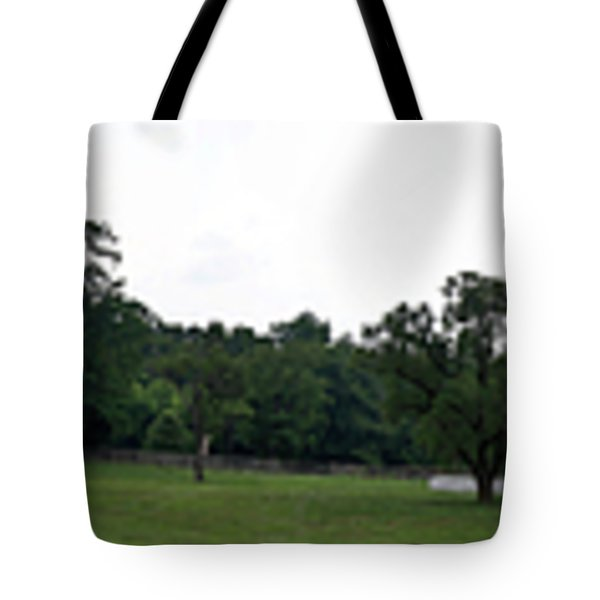 Historic Appomattox Panorama  Tote Bag by Teresa Mucha