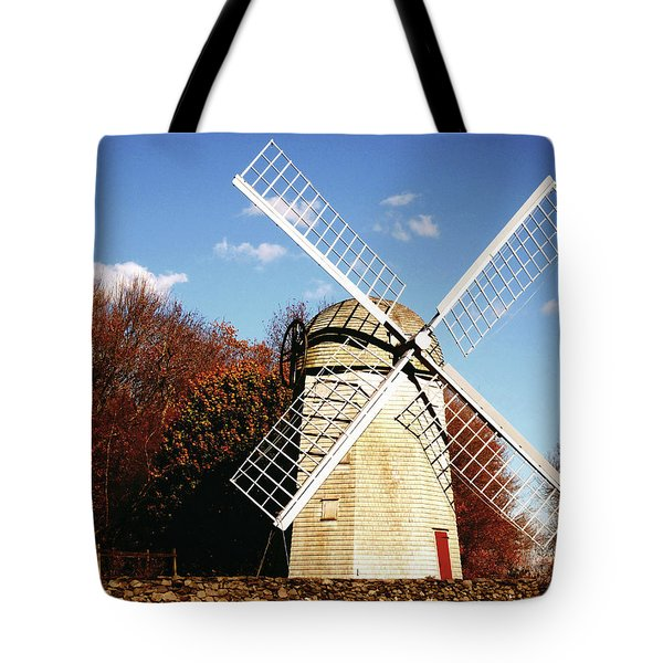 Historical Windmill Tote Bag by Lourry Legarde