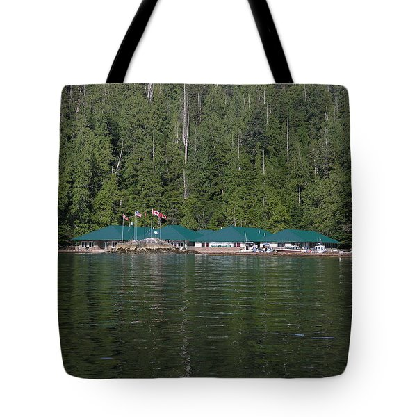 Hoiss Point Lodge #2 Tote Bag by Nootka Sound