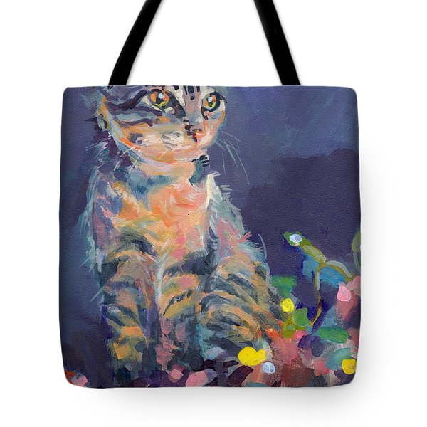 Holiday Lights Tote Bag by Kimberly Santini