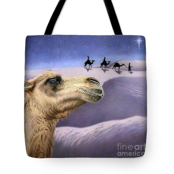 Holy Night Tote Bag by Sarah Batalka