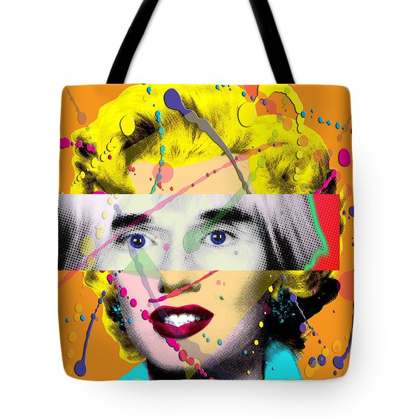 Homage To Warhol Tote Bag by Gary Grayson