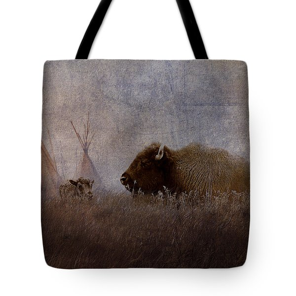 Home On The Range Tote Bag by Ron Jones