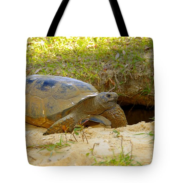Home Sweet Burrow Tote Bag by David Lee Thompson