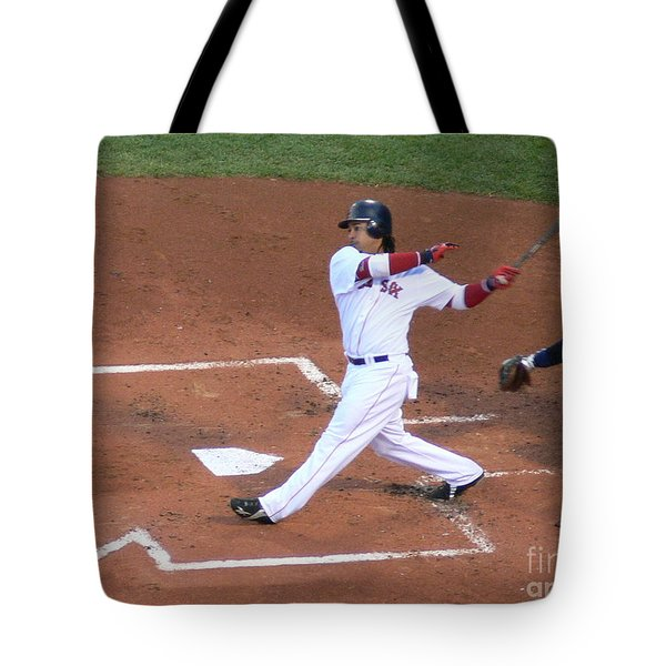 Homerun Swing Tote Bag by Kevin Fortier