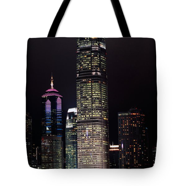 Hong Kong Skyline Tote Bag by American School