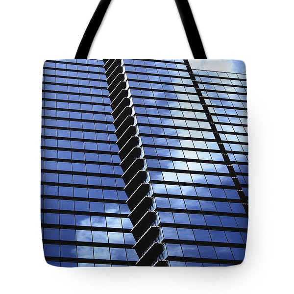 Honolulu Skyscraper Tote Bag by Brandon Tabiolo - Printscapes
