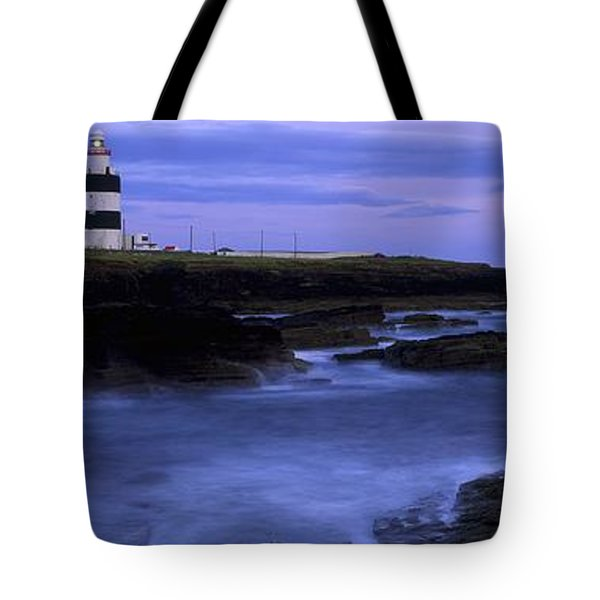 Hook Head Lighthouse, Co Wexford Tote Bag by The Irish Image Collection