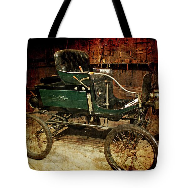 horseless carriage Tote Bag by Ernie Echols
