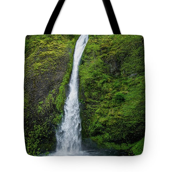 Horsetail Falls Tote Bag by Jon Burch Photography