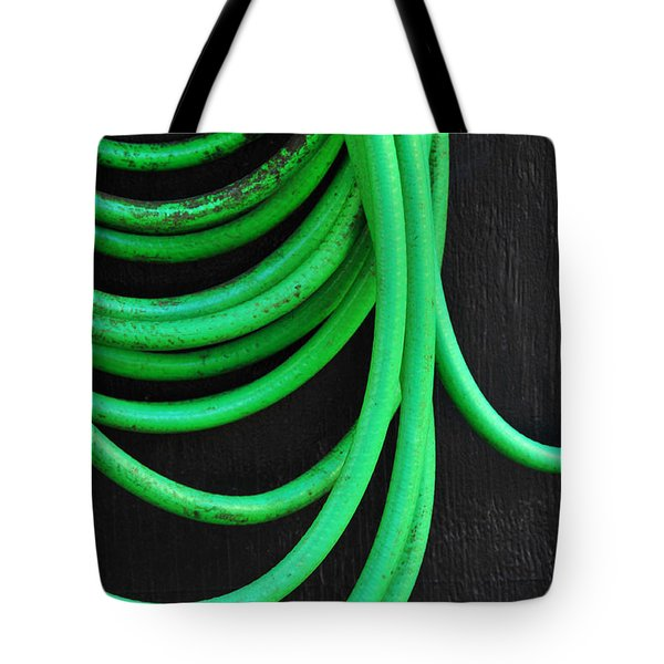 Hosed Tote Bag by Skip Hunt