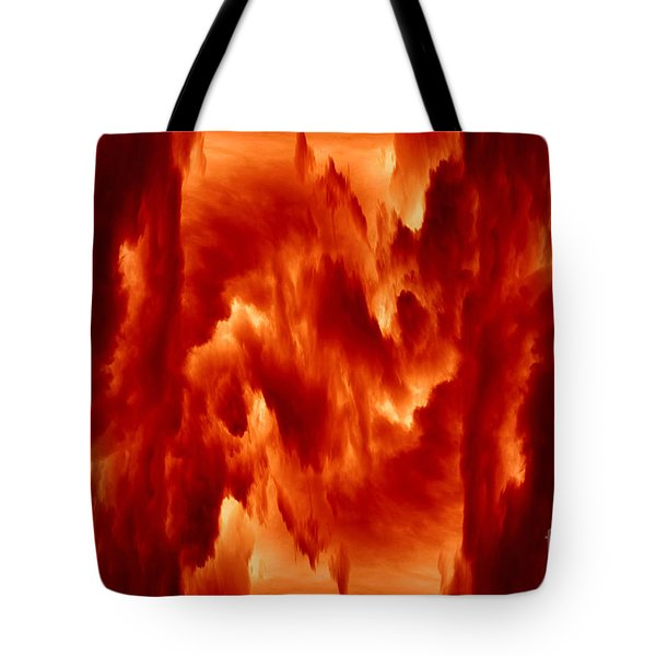 Hot Space Tote Bag by Michal Boubin