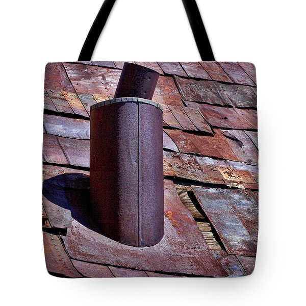 Hot Tin Roof Tote Bag by Kelley King