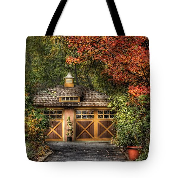House - Classy Garage Tote Bag by Mike Savad