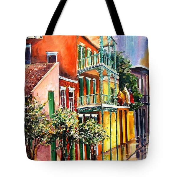 House Of The Rising Sun Tote Bag by Diane Millsap