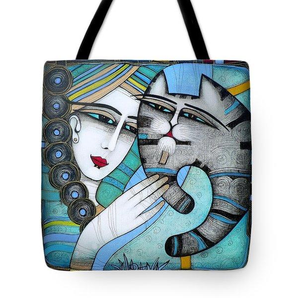 hug Tote Bag by Albena Vatcheva