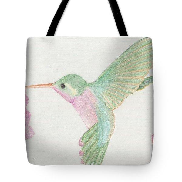 Hummingbird Tote Bag by Joanna Aud