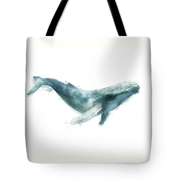 Humpback Whale From Whales Chart Tote Bag by Amy Hamilton
