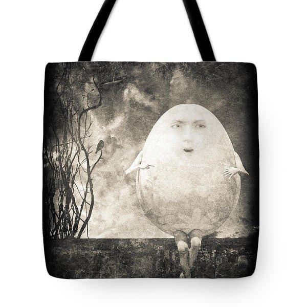 Humpty Dumpty Tote Bag by Bob Orsillo