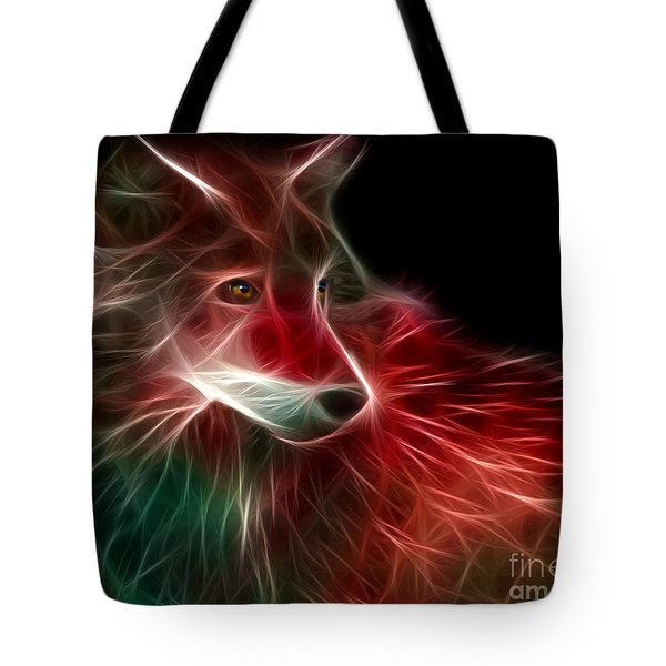 Hunger Prowl Tote Bag by Peter Piatt