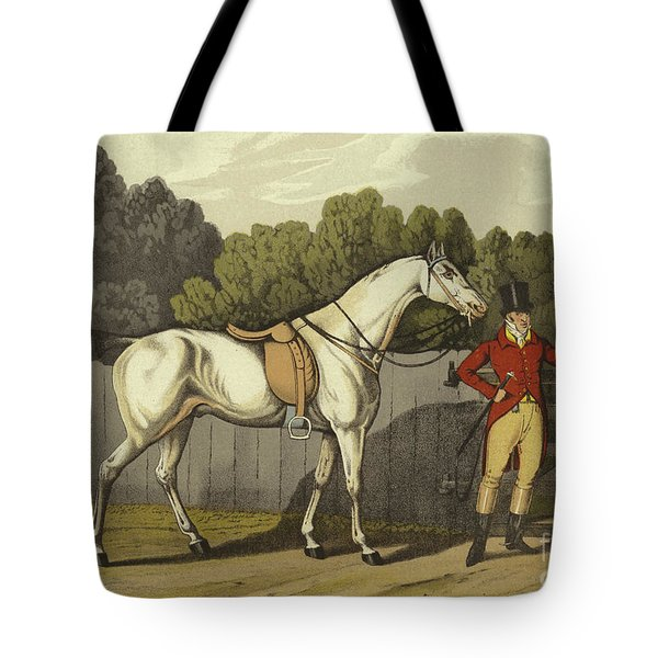 Hunter Tote Bag by Henry Thomas Alken
