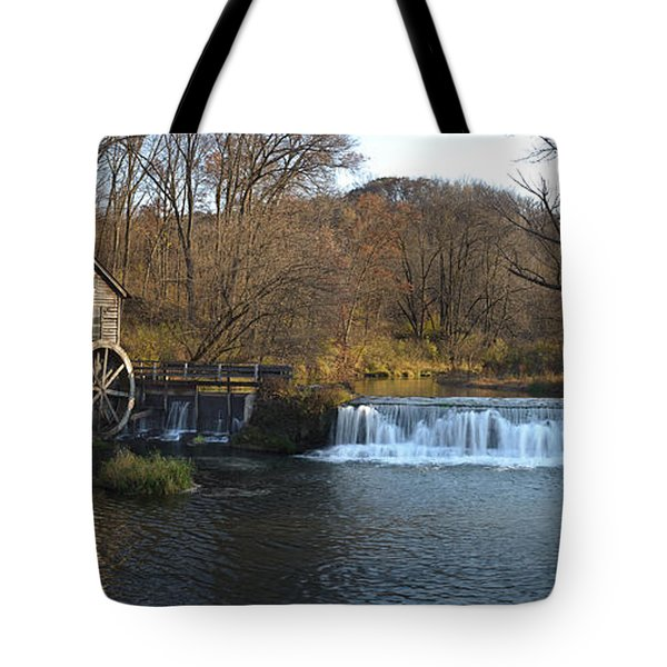 Hyde Mill Wisconsin Tote Bag by Steve Gadomski
