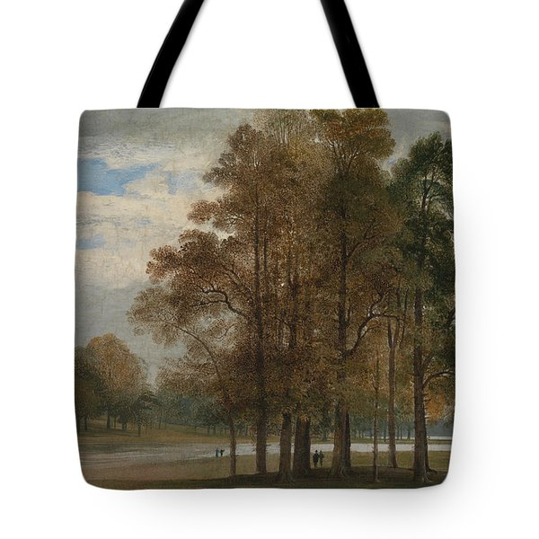 Hyde Park Tote Bag by John Martin