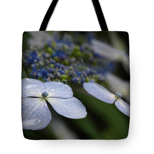 Hydrangea Macrophylla Tote Bag by Juergen Roth