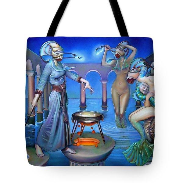 Hydromeda's Kitchen Tote Bag by Patrick Anthony Pierson