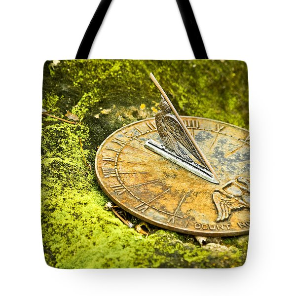 I Count None But Sunny Hours Tote Bag by Carolyn Marshall